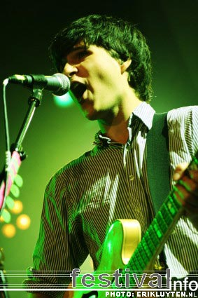 Foto Vampire Weekend op Iceland Airwaves Festival 2008