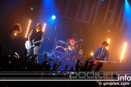 Foto Fall Out Boy op Fall Out Boy - 26/10 - Melkweg