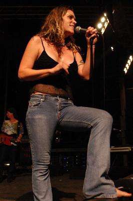 Beth Hart op Huntenpop 2004 foto