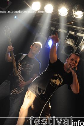 Los Putas op Speedfest 2008 foto
