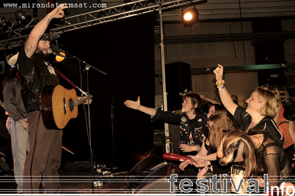 Bob Wayne & The Outlaw Carnies op Speedfest 2008 foto