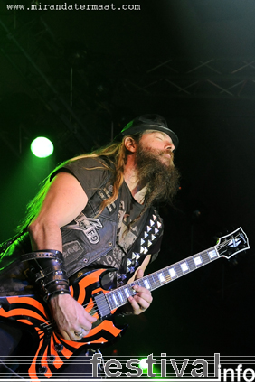 Black Label Society op Speedfest 2008 foto