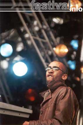 Foto Bastian op Bevrijdingspop Haarlem 2001
