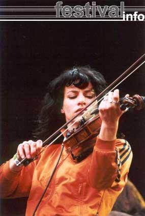 Foto Ellen ten Damme op Bevrijdingspop Haarlem 2001