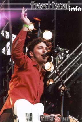 Foto Ivar op Bevrijdingspop Haarlem 2001