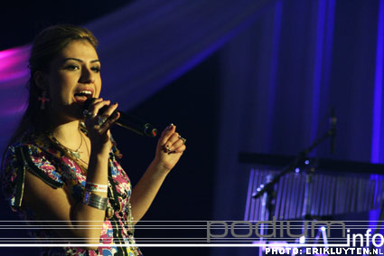 Foto Gabriella Cilmi op Top 2000 in Concert - 11/12 - Heineken Music Hall