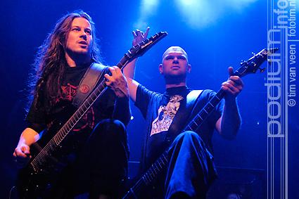Hail Of Bullets op Metalfest 2008 - 21/12 - Melkweg foto