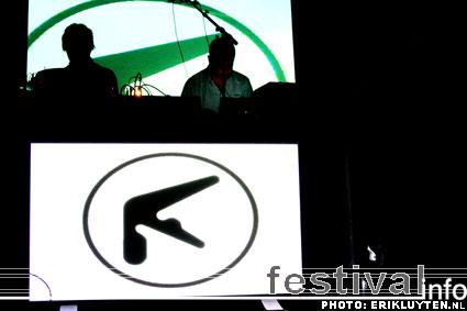 Foto Aphex Twin op STRP Festival 2009