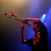 Kyteman's Hiphop Orkest foto Vlaamse Reuzen Hollandse Leeuwen 2009