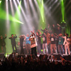 Foto Kyteman's Hiphop Orkest te Vlaamse Reuzen Hollandse Leeuwen 2009