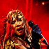 Grace Jones foto Roskilde 2009