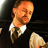 Foto Tim Christensen te Bospop 2009