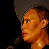 Foto Grace Jones op Lowlands 2009
