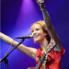 Foto Marike Jager te Appelpop 2009