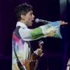 Foto Prince op Roskilde 2010