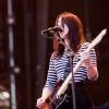 Foto Blood Red Shoes op Pinkpop 2012