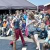 Foto  op Oerol Festival 2013