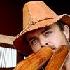 Foto Xavier Rudd te Rockin' Park 2008