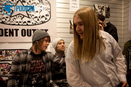Sfeerfoto Bring me The Horizon - 21/01 - Independent Outlet