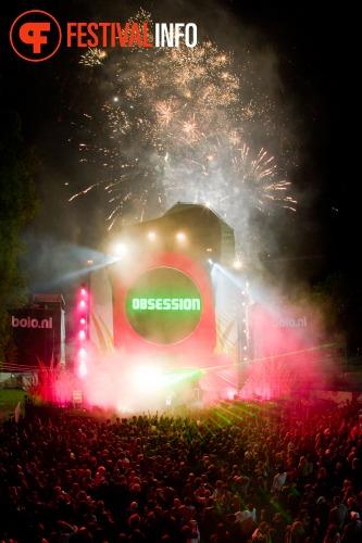 Sfeerfoto Obsession Outdoor Festival - zaterdag 28 mei 2011