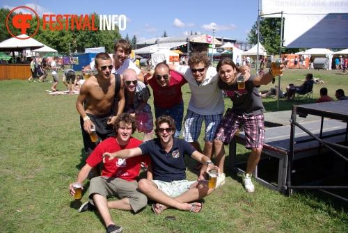 Sfeerfoto Sziget - woensdag 10 augustus 2011