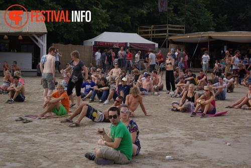 Sfeerfoto Sziget - zaterdag 13 augustus 2011