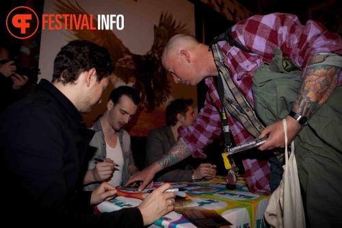 Sfeerfoto Snow Patrol Signeersessie - 10/11 - FAME Megastore