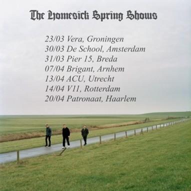 The Homesick met debuualbum op tour door Nederland