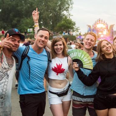 Sfeer festivalpubliek Mysteryland 2017