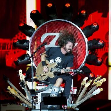 Foo Fighters in 2018 naar Sportpaleis