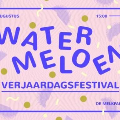 watermeloen verjaardagsfestival