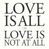 Marc Carroll Love Is All Or Love Is Not At All cover