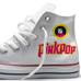 Pinkpopschoen Converse