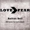 Nathan Bell Love>Fear (48 Hours In Traitorland) cover