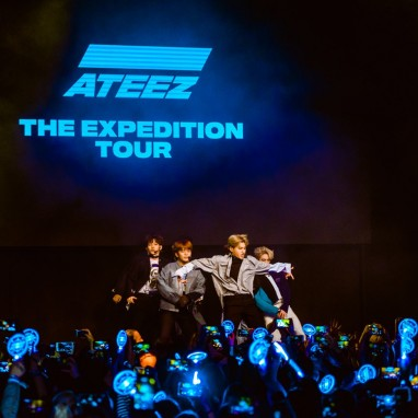 review: ATEEZ 12/04 Q-Factory ATEEZ