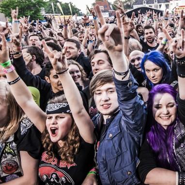 Festival sfeer rock metal (Into The Grave 2016)