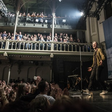 review: Tom Chaplin - 15/03 - Paradiso Tom Chaplin