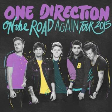 One Direction naar Belgie in 2015
