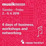 Festivaltip: Musikmesse Frankfurt 2019