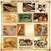 Phantom Buffalo Cement Postcard With Owl Colours
