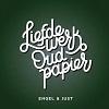 Engel & Just Liefdewerk Oud Papier cover