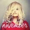 Lesley Pike November cover