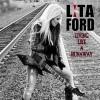 Lita Ford Living Like A Runaway cover
