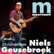 Concerttip: Niels Geusebroek - Wildfire in  Meervaart