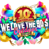 We love the 90's Outdoor Festival 2020 logo