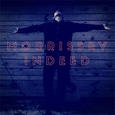 Morrissey Indeed voor 4 shows naar Nederland plaatje