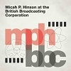 Cover Micah P. Hinson - At The British Broadcasting Corporation