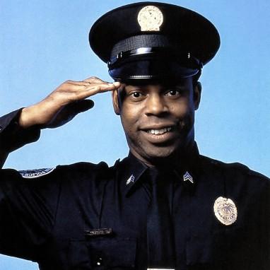 Michael Winslow police academy