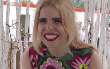 Video: Paloma Faith blij met regen tijdens Pinkpop-show