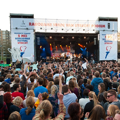 Overzicht bevrijdingsfestivals 2015